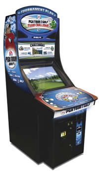 pga golf challenge machine